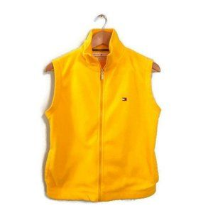 Vintage Y2K Yellow Tommy Hilfiger Fleece Vest